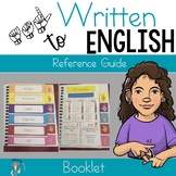 ASL to Written English Reference Guide booklet