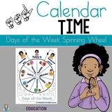 ASL version: Days of the week