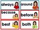ASL word wall-2nd grade