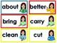 ASL word wall-3rd grade