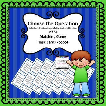 ASMD TASK CARDS CHOOSE OPERATION #2
