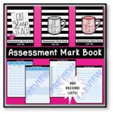 ASSESSMENT MARK BOOK   EDITABLE   DATA   ASSESSMENT