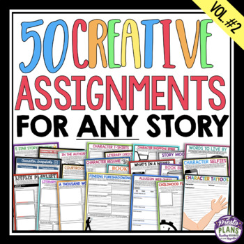 ASSIGNMENTS FOR ANY NOVEL OR SHORT STORY (VOLUME 2)