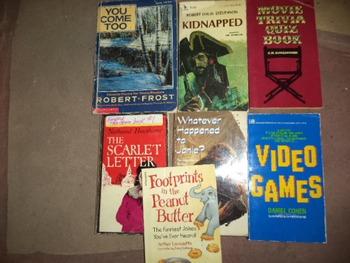 ASSORTMENT OF 7 BOOKS