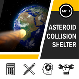 Asteroid Collision Shelter - A Hands-On Measurement Activity