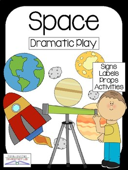 Astronaut Space Station Dramatic Play Center Tpt