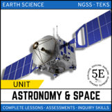 ASTRONOMY AND SPACE SCIENCE UNIT - 5E Model