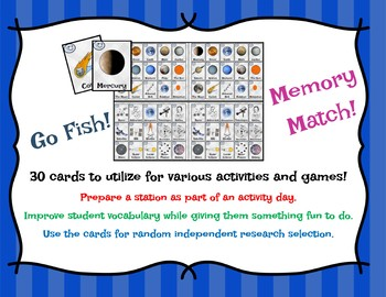 ASTRONOMY CARD MATCH