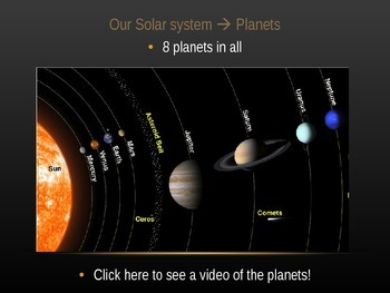 ASTRONOMY Powerpoint with Video Links!