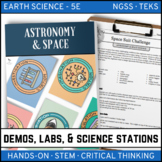 ASTRONOMY & SPACE SCIENCE - Demo, Labs and Science Stations
