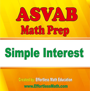 ASVAB Math Prep: Simple Interest