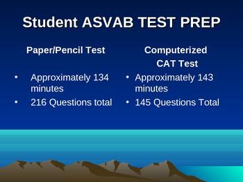 ASVAB Test Prep Slide Show