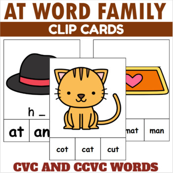 AT Family Clip Cards
