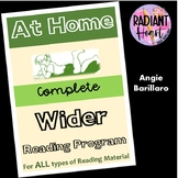 AT HOME Wider Reading Program Packet Distance Learning for