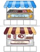 AT THE MARKET {Grocery Store Board Game}