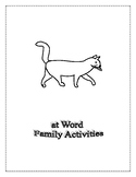 AT WORD FAMILY ACTIVITIES