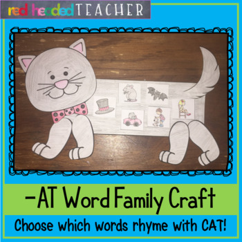 -at Word Family Craft