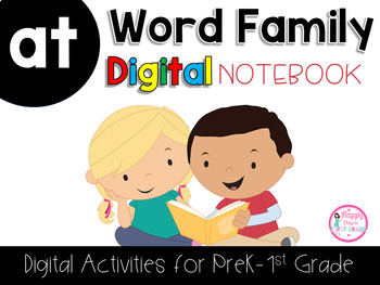 AT Word Family Digital Notebook