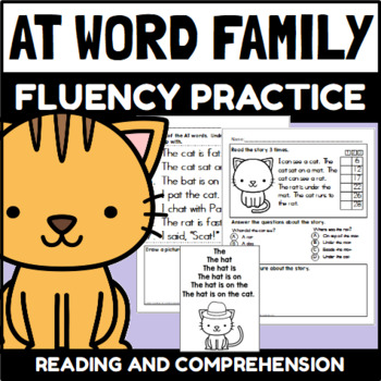 AT Word Family Fluency Practice
