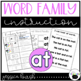 AT Word Family Instruction
