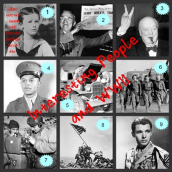 AT4S (4) Project Based Learning & WWII (Minorities, Men &