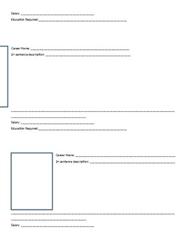 ATC Planning Worksheet Art Careers