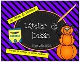 ATELIER DE DESSIN AU THEME D'AUTOMNE