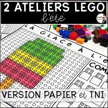 ATELIERS LEGO - Reproduis les motifs (imprimer/digital) BUNDLE