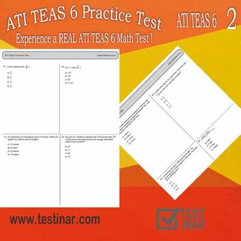 ATI TEAS 6 Mathematics Practice Test - 2