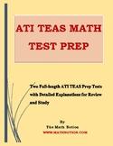 ATI TEAS Math Tests Prep
