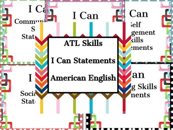 ATL I Can Statements: American English
