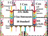 ATL I Can Statements: IB Standard