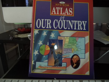ATLAS OF OUR COUNTRY  ISBN 0-7825-0589-9