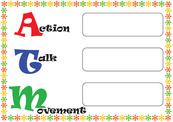 ATM - Action, Talk and Movement - Classroom Behaviour