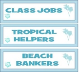 Class Incentives, Reward System, ATM Tropical Beach Theme, Class Jobs