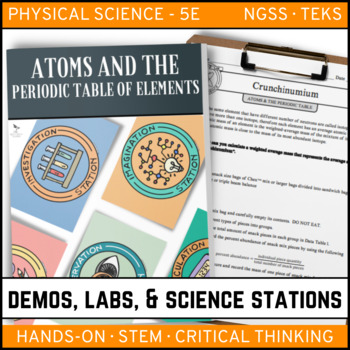 ATOMS AND THE PERIODIC TABLE - Demo, Labs and Science Stations