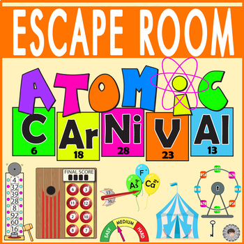 ATOMS & ELEMENTS Escape Room ~ All Digital Locks Breakout ~