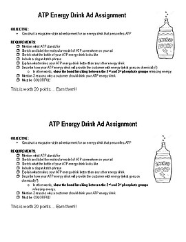 ATP Energy Drink Ad Assignment