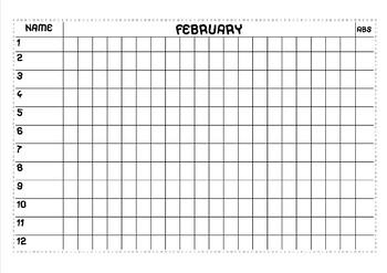 ATTENDANCE SHEET (from January to July)