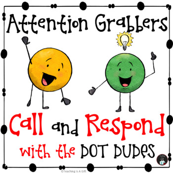 ATTENTION GRABBERS POSTERS WITH THE DOT DUDES FREEBIE