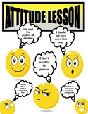 ATTITUDE LESSON WITH WORKSHEET