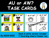 AU AND AW TASK CARDS/WRITE THE ROOM/SCOOT
