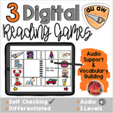 AU AW:  Digital Reading Activities - Distance Learning