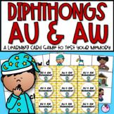 AU & AW Diphthong Remember Game