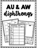 AU&AW Diphthongs