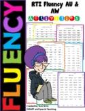 AU & AW Fluency  Second Grade RTI