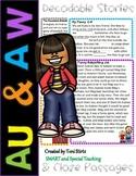 AU & AW Second Grade Decodable Stories Level 2 Unit 16 Int
