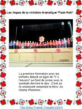 """AU CHAMP D'HONNEUR: UNE RÉCITATION DRAMATIQUE """"FLASH MOB"""" AU JOUR DU SOUVENIR"""