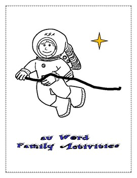 AU WORD FAMILY ACTIVITIES