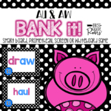 Decoding Diphthong AU and AW Words Bank It Projectable Games